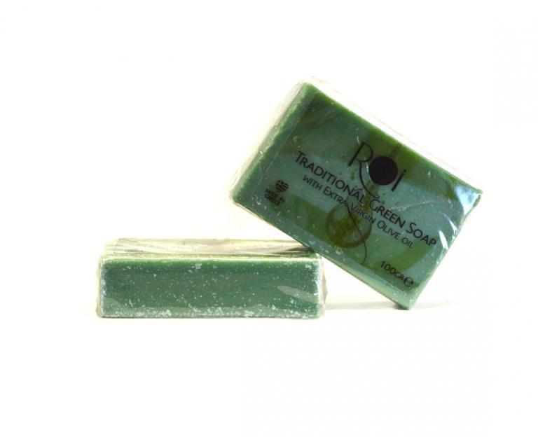 Παραδοσιακό Πράσινο Σαπούνι 100g
